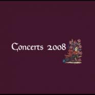 Concerts Aquilegia 2008