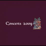 Concerts Aquilegia 2009