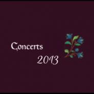 Concert 2013
