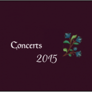 Concerts 2015